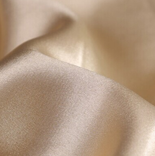 2021 New recycled delustered emboss rose satin fabric for dress