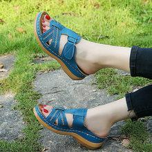 2020 модная летняя обувь; Женские босоножки; Праздничная обувь; Пляжные шлепанцы без застежки; Цвет розовый, синий; A2175(Китай)