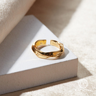 Jewelry Gold Ring Rings Mnch Jewelry 925 Silver Gold Plated Mobius Resizable Engagement Minimalist Vermeil Love Ring