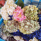 Factory Wholesale Single Long Rod Hydrangea 144 Pieces For Home Decor Artificial Flowers