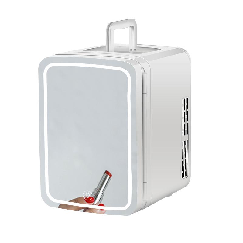 Лучшее качество мини холодильник косметический уход за кожей холодильник Рождественский подарок