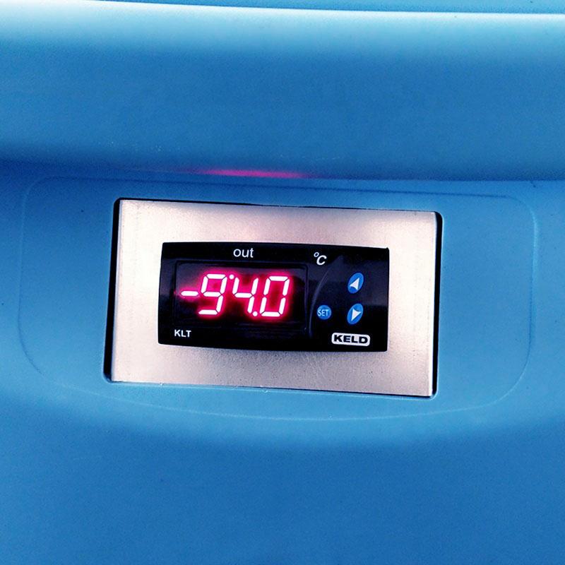 Портативный Медицинский морозильник-86 из нержавеющей стали, ультранизкий морозильник, морозильник медицинского класса