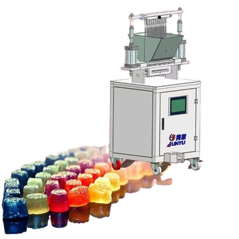 Health Organics Green gummy candy making machine /CBD gummy Jelly Candy production line for sweet candy jelly machine