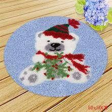 Набор ковриков Smyrna для рождественской вышивки, набор крючков с защелкой, Foamiran для рукоделия, украшение Санта-Клауса(Китай)
