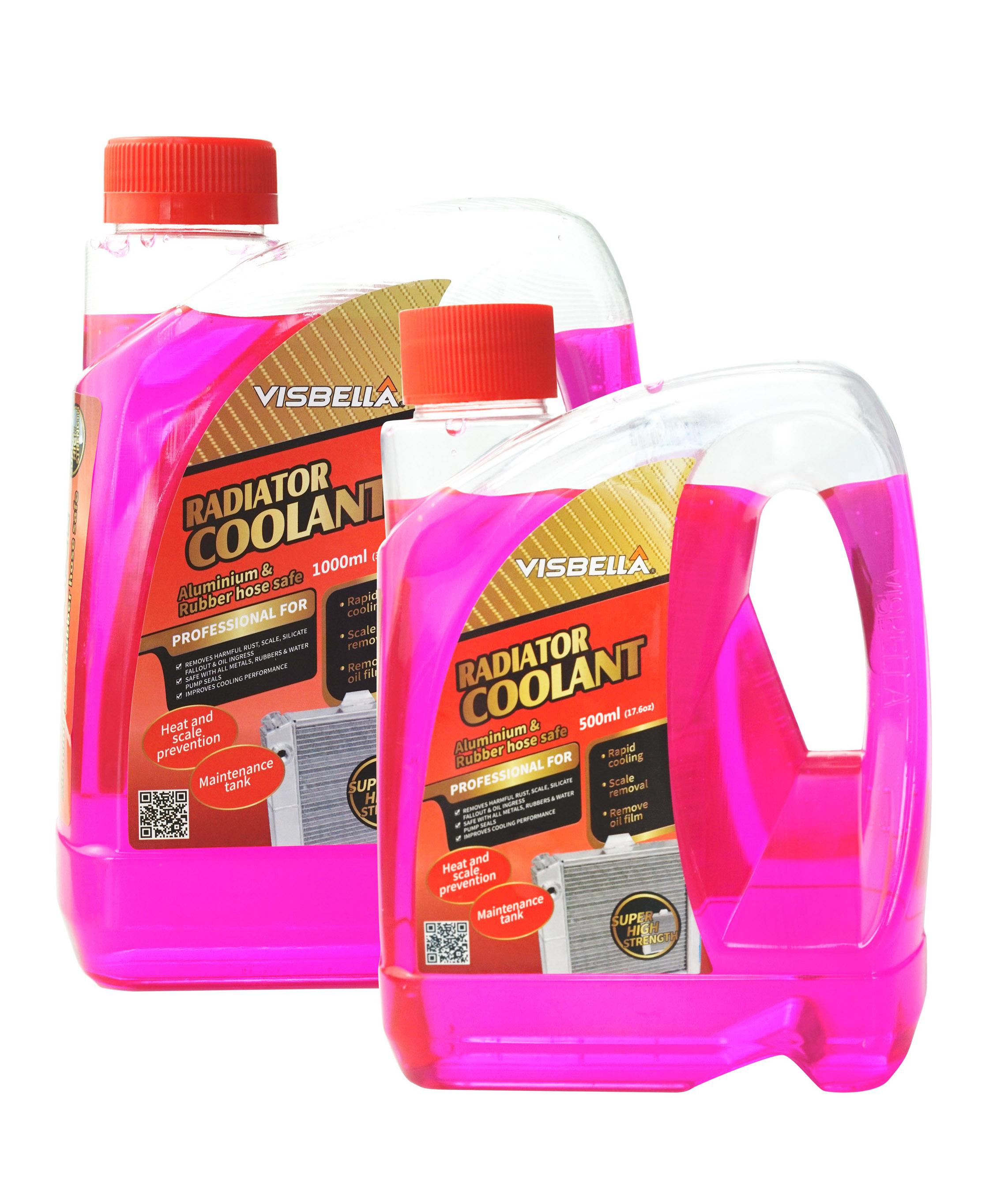 Visbella Anti rust anti corrosive radiator cooling system coolant car radiator coolant