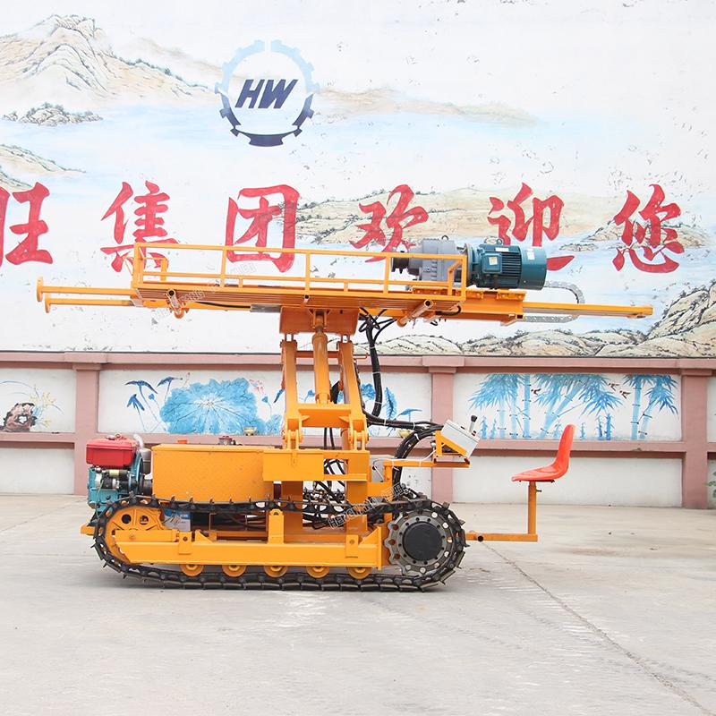 crawler DTH drilling rig ,Hydraulic Crawler Anchoring Drilling Rig