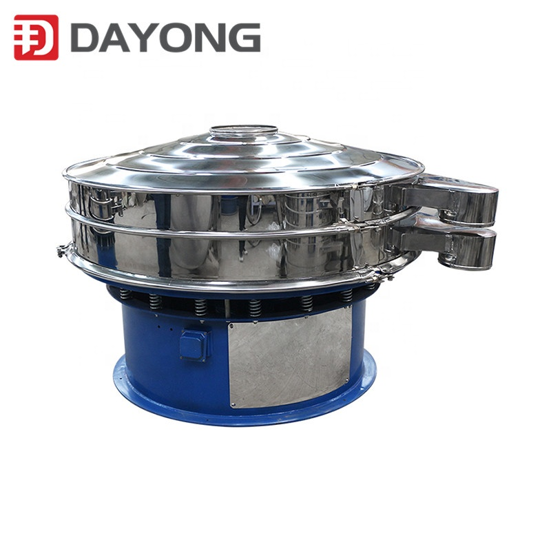 DY 600 Single Deck Rotary Vibrating Screen for Powder Granule Sieving