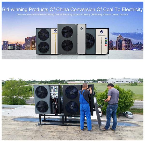 Новый источник энергии B345 100E Nulite, тепловой насос для дома, все в одном, тепловой насос