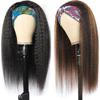 Kinky Straight Headband Wigs