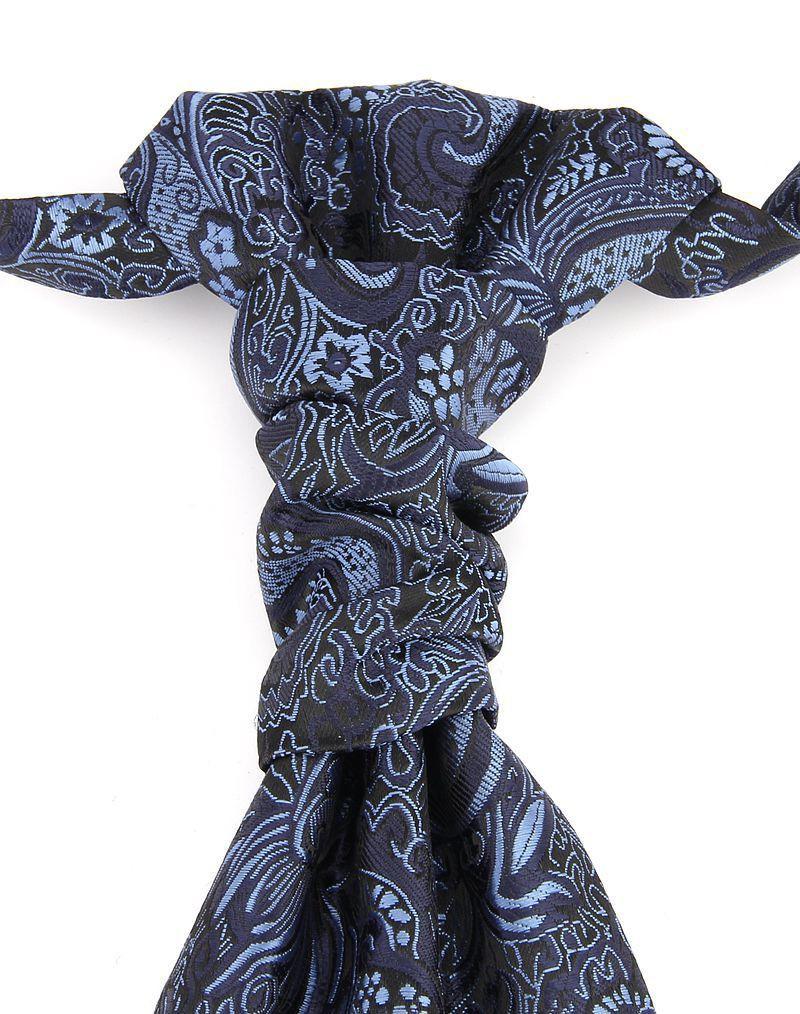 CS5020 Formal Wedding Business Party 100% Silk Jacquard Woven Gift Men Tie Necktie Print Pattern Easy Wear with Zipper