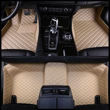 Пользовательские автомобильные коврики для hyundai santa fe getz tucson ix25 ix35 creta elantra kona i30 кожаные все модели автомобильные коврики аксессуары(Китай)
