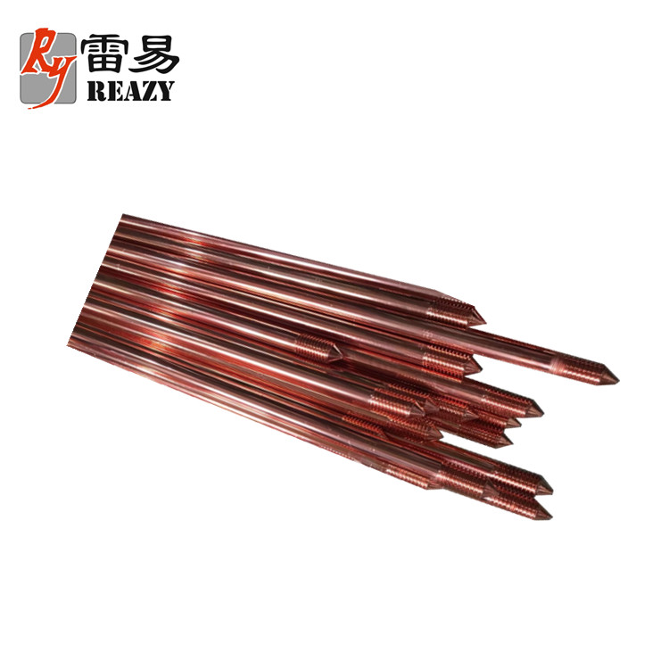 Thunder Protection Grounding Copper coated earth rods TBB218