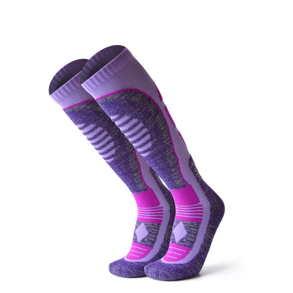 Winter Cold Weather Outdoor Sports Skiing Socks, Snowboard Socks for Womens/Mens Hiking