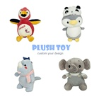 Plush Toy Plush Toy Design OEM High Quality Promotional Cute Animal Soft Stuffed Plush Toy For Baby