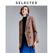 Женская клетчатая Свободная куртка в стиле ретро, блейзер для путешествий, S | 419321505(Китай)
