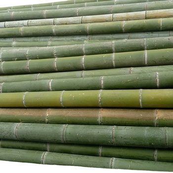 100% Natural Agricultural Building Support Long Bamboo Poles Construction