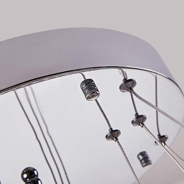 Contemporary lighting modern chandelier crystal ceiling light Chandeliers & Pendant Lights modern crystal plastic led 9239-700mm