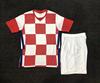 Croatia red white