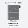 2 Line Black