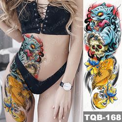 OEM Best Selling Tiger Carp Waterproof water transfer tattoo sticker
