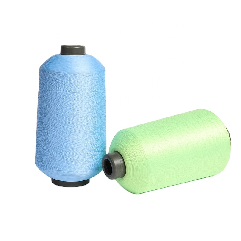 yarn 100% polyester 75D/72F/2 dty yarn for knitting crochet manufacture of 100% polyster yarn manufacture of polyster yarn 75/72