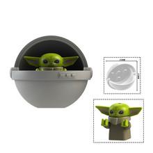 Мандалорианская модель Звездных Войн для детей, супербоевая модель робота, строительный блок, игрушки, техника, подарок для детей(Китай)