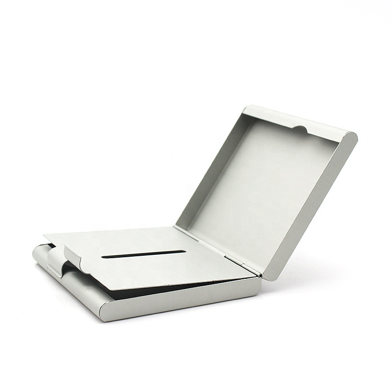 Guangdong factory Laifu high quality promotion gifts tobacco box 20pcs capacity metal aluminium alloy cigarette case