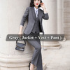 3 Piece Gray Suits