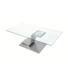 Design Square Tables Simplist Modern Simple Design Furniture 3 Piece Lounge Tempered Glass Silver Metal Square Coffee Tables Set