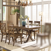 Solid wood dining table + 4 dining chairs