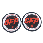 Team Patch Fabric Patch Uniform Iron On Custom Soccer Team Name Logo Machine Woven Sport Fabric Patch And Badge For Clothing