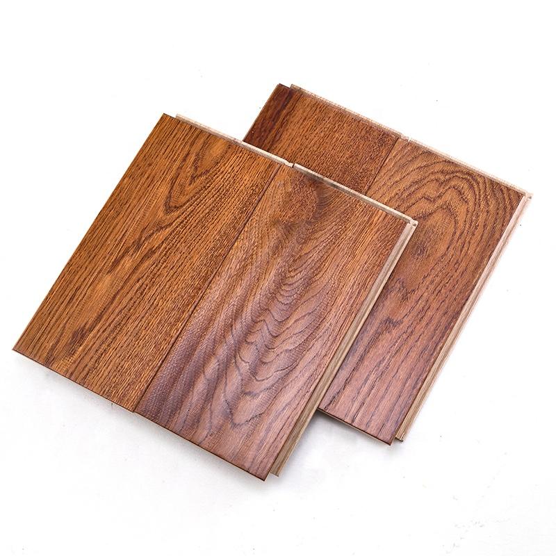 High quality hard wooden floors 3layer parquet-OAK-Golden engineered flooring