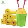 Yellow Drawstring bags