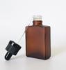 30ml bottiglia di vetro ambrato con contagocce caps