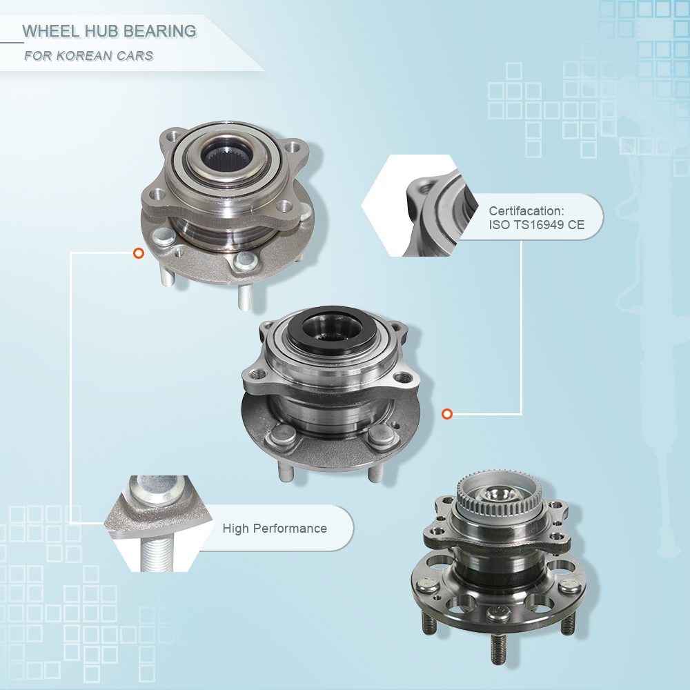 ZPARTNERS wheel hub bearing unit for Chevrolet Cruze Buick Veyron Cascada Opel Astra J P10 Front 13502829 328001 0328001