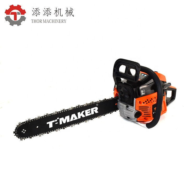 52cc petrol chain saw mill price in india green cut chainsaw