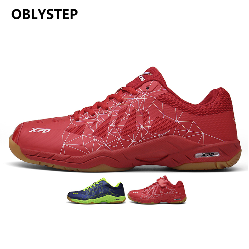 OBLYSTEP Badminton Shoes 88 DIAL Power Pad Fashion Leather Summer Red Top Blue Winter Cotton Sports Blue Spring Resin Training