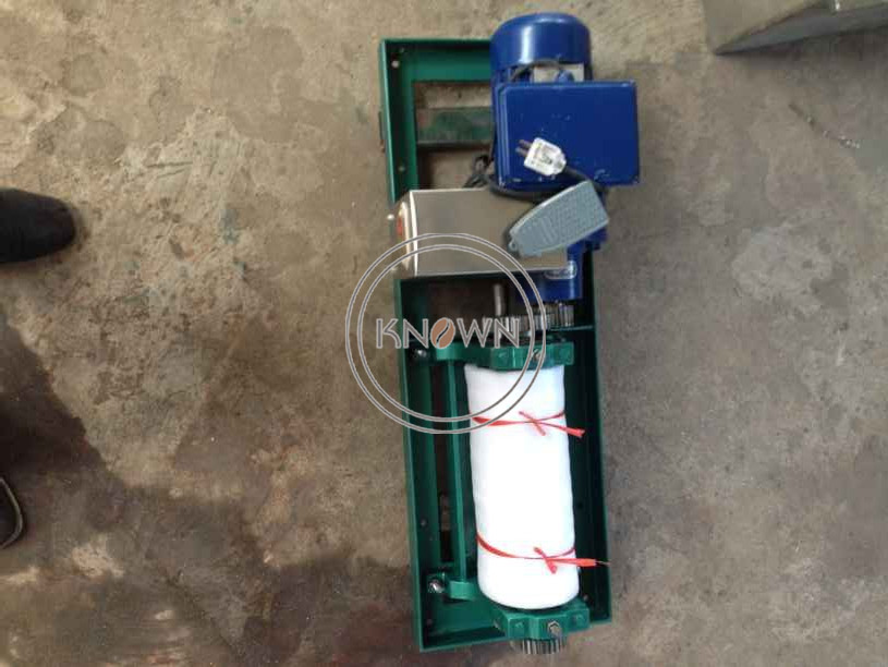 Electric Type Beeswax Foundation Machine Mill Support Customization Aluminium Alloy Bee Wax Comb Foundation Sheeter Roller