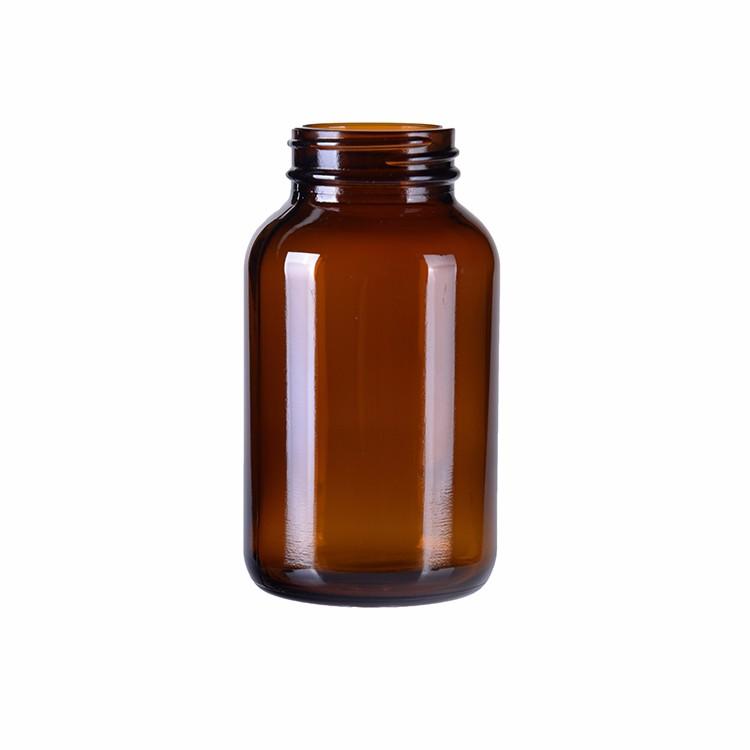 Фармацевтическая Янтарная стеклянная бутылка для пестицидов Ветеринарная медицина стеклянная бутылка