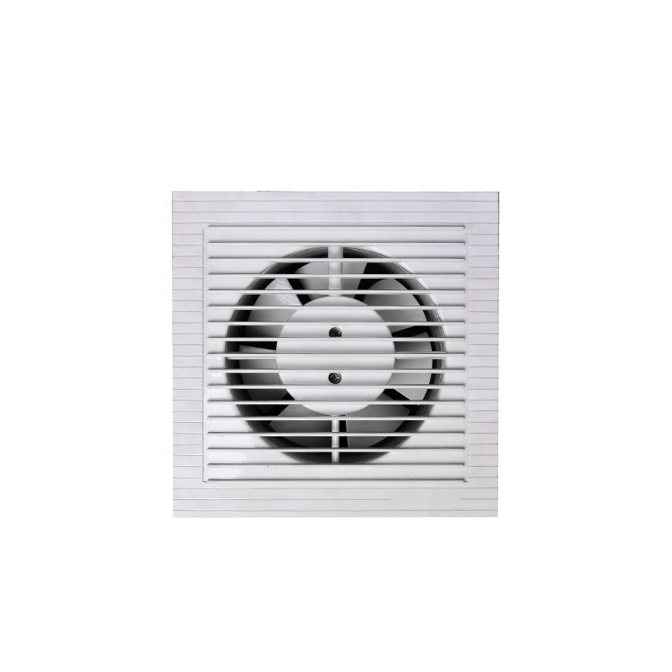 Best Price High Quality 7 Blades Bathroom Exhaust Fan Square With Plastic Blades