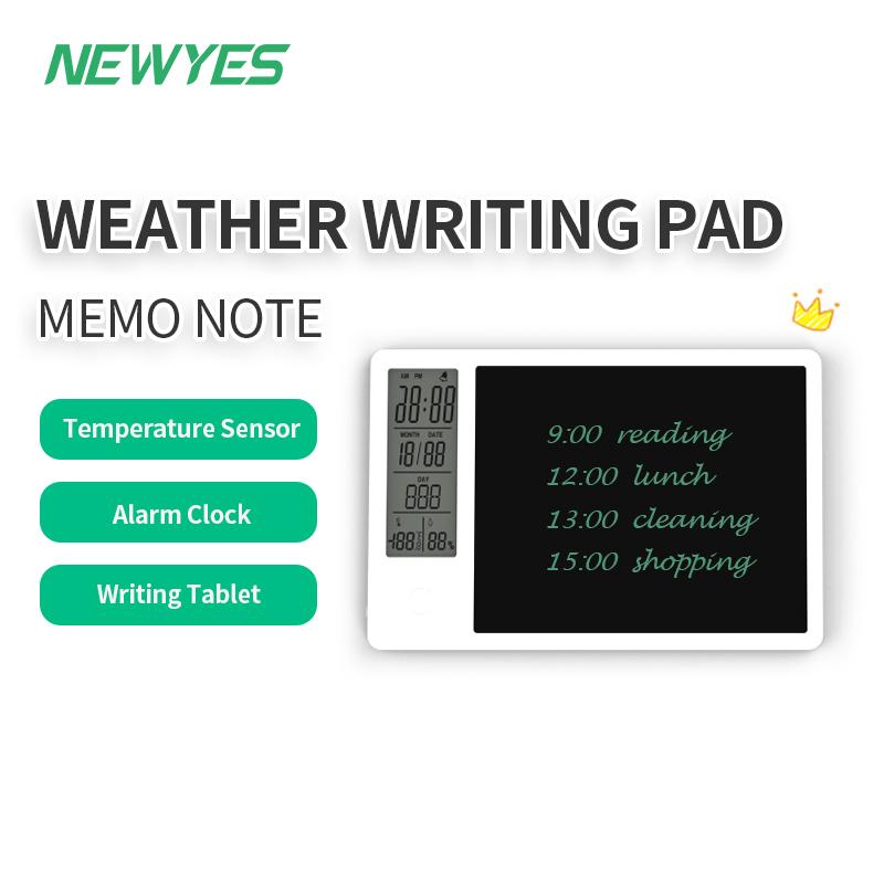 NEWYES температура влажность дисплей стол электронный календарь с доски планшета