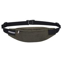 Поясная сумка, поясная сумка для женщин и мужчин, водонепроницаемая сумка для живота с карманами, сумка через плечо, сумка-мессенджер, нагру...(Китай)