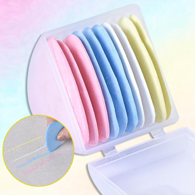 Яркие стираемые тканевые хвосты, маркер для лоскутного шитья, маркер для одежды, инструмент для шитья, аксессуары для рукоделия