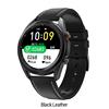 DT91 Smartwatch-Black-Leather