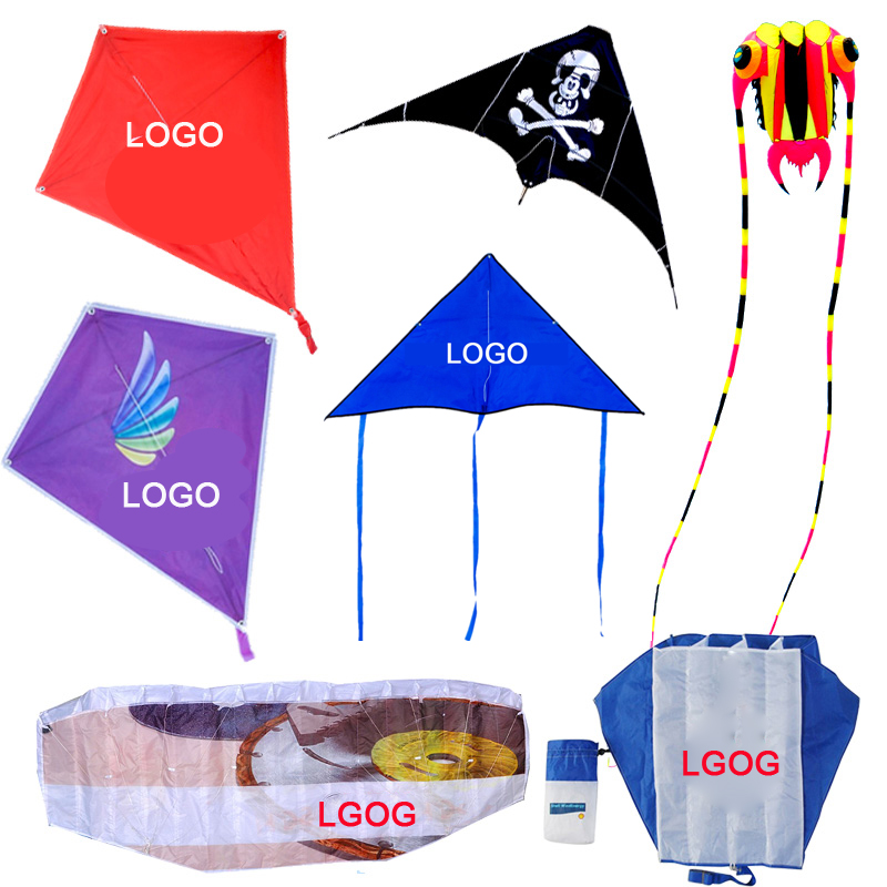 Custom printed promotional stunt kite from the factory