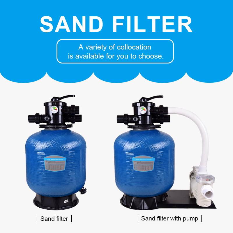 2020 Good Quality Fiberglass Swimming Pool Sand Filter, Swimming Pool Cleaner Multiport Sand Filter, Pool Sand Filter
