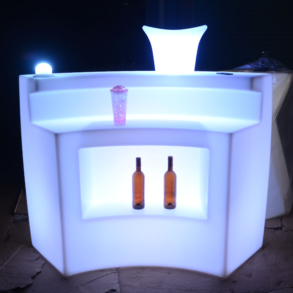led round bar counters design /Plastic Solid Surface nightclub used bar furniture, Long bar counter,restaurant bar counter