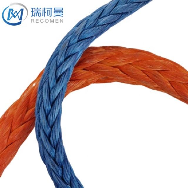 UHMWPE rope properties marine skiff rope breaking strength 8 strand rope splicing instructions