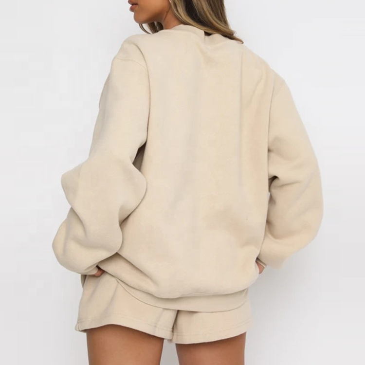 Wholesale Custom New fashion  Sweat Shorts Women Cotton Gym Casual Women's Shorts
