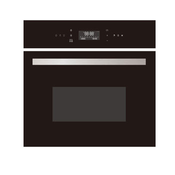 Foshan Built In Kitchen 56L Electric bakery oven pizza/bread high speed oven in High quanlity oven + microwave set